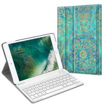 Fintie Keyboard Case for iPad 9.7 2018 2017 / iPad Air 2 / iPad Air - Slim Shell Stand Cover w/Magnetically Detachable Wireless Bluetooth Keyboard for iPad 6th / 5th Gen, iPad Air 1/2, Shades of Blue