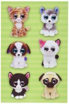 Darice Pet Beanie Boo Wiggle Eye Stickers (12 Pack)