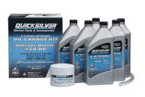 Quicksilver 8M0107513 Marine Engine Oil Change Kit for Mercury/Mariner 150 HP Engines