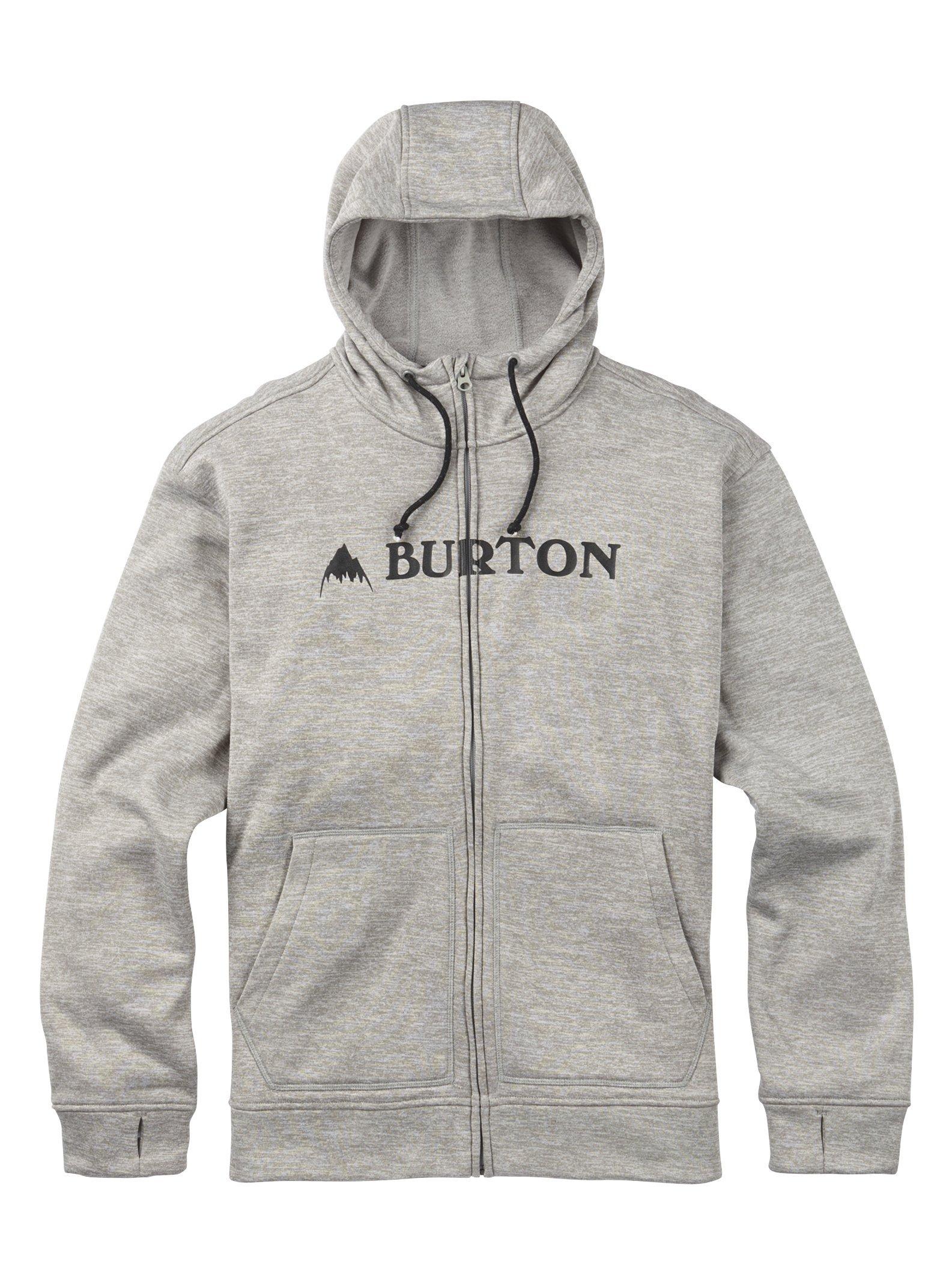 Burton Men's Oak Full-Zip Hoodie Sweatshirt
