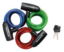 Master Lock 8127TRI Keyed Bike Lock 3 Pack Blue, Green, Red