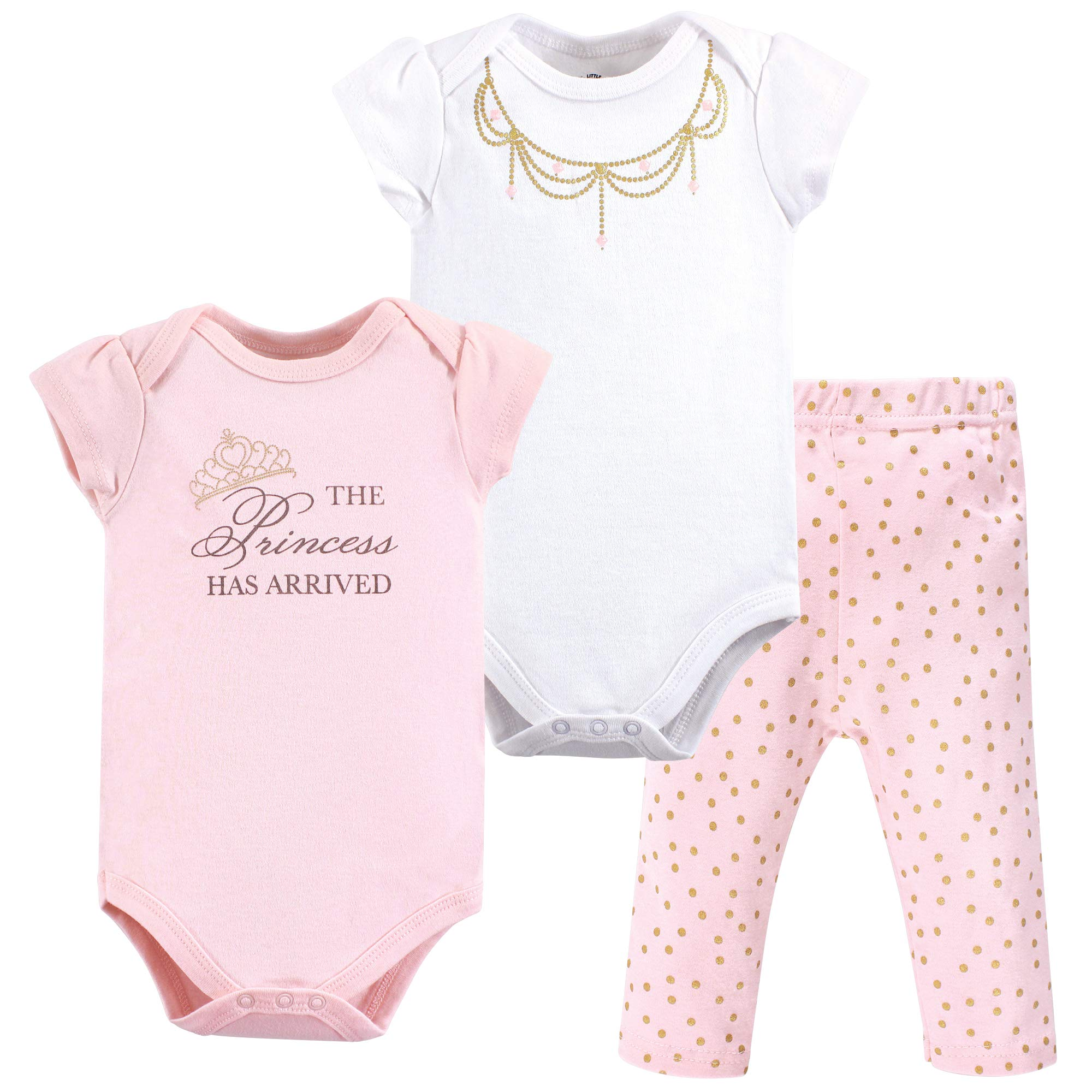 Little Treasure Unisex Baby 2 Bodysuit and Pant