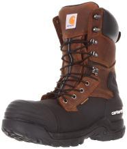 "Carhartt Men's 10"" Waterproof Insulated PAC Composite Toe Boot"