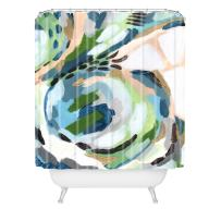 "Deny Designs Laura Fedorowicz Greenery Shower Curtain,  69"" x 72"""
