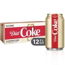 Diet Coke Caffeine Free Soda Soft Drink, 12 fl oz, 12 Pack