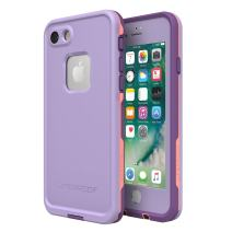 Lifeproof FRē Series Waterproof Case for Iphone 8 & 7  - Retail Packaging - Chakra (Rose/Fusion Coral/Royal Lilac)