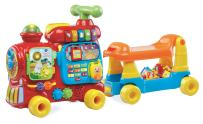 VTech Sit-to-Stand Ultimate Alphabet Train, Red, Great Gift For Kids, Toddlers, Toy for Boys and Girls, Ages 1, 2, 3