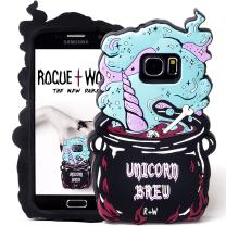 Cute Unicorn Brew Samsung S8 Case Kawaii Phone Cases for Girls Silicone 3D Protective Cover (Samsung S8)