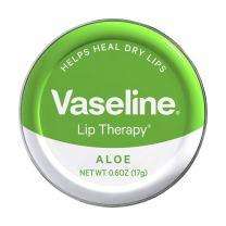 Vaseline Lip Therapy Lip Balm Tin, Aloe Vera, 0.6 oz