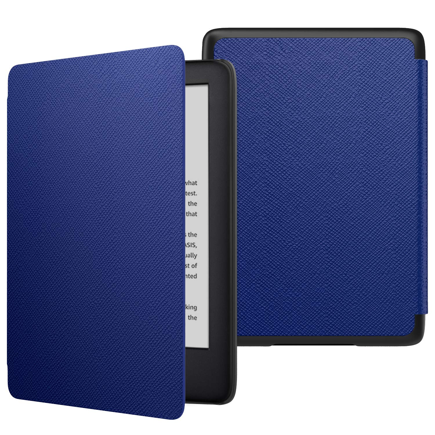 MoKo Case Fits All-New Kindle (10th Generation - 2019 Release Only), Thinnest Protective Shell Cover with Auto Wake/Sleep, Will Not Fit Kindle Paperwhite 10th Generation 2018 - Indigo