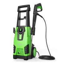 Roav HydroClean, by Anker, Electric Pressure Washer, Power Washer with 2,100 PSI, 1.78 GPM, Longer Cables and Hoses, and Detergent Tank, for Cleaning Cars, Houses Driveways, Patios, and More