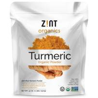 Zint Organic Turmeric Curcumin Powder (32 oz): Indian Spice - Raw Natural Whole-Food Curcumin Supplement - Antioxidant, Non-GMO, USDA Certified