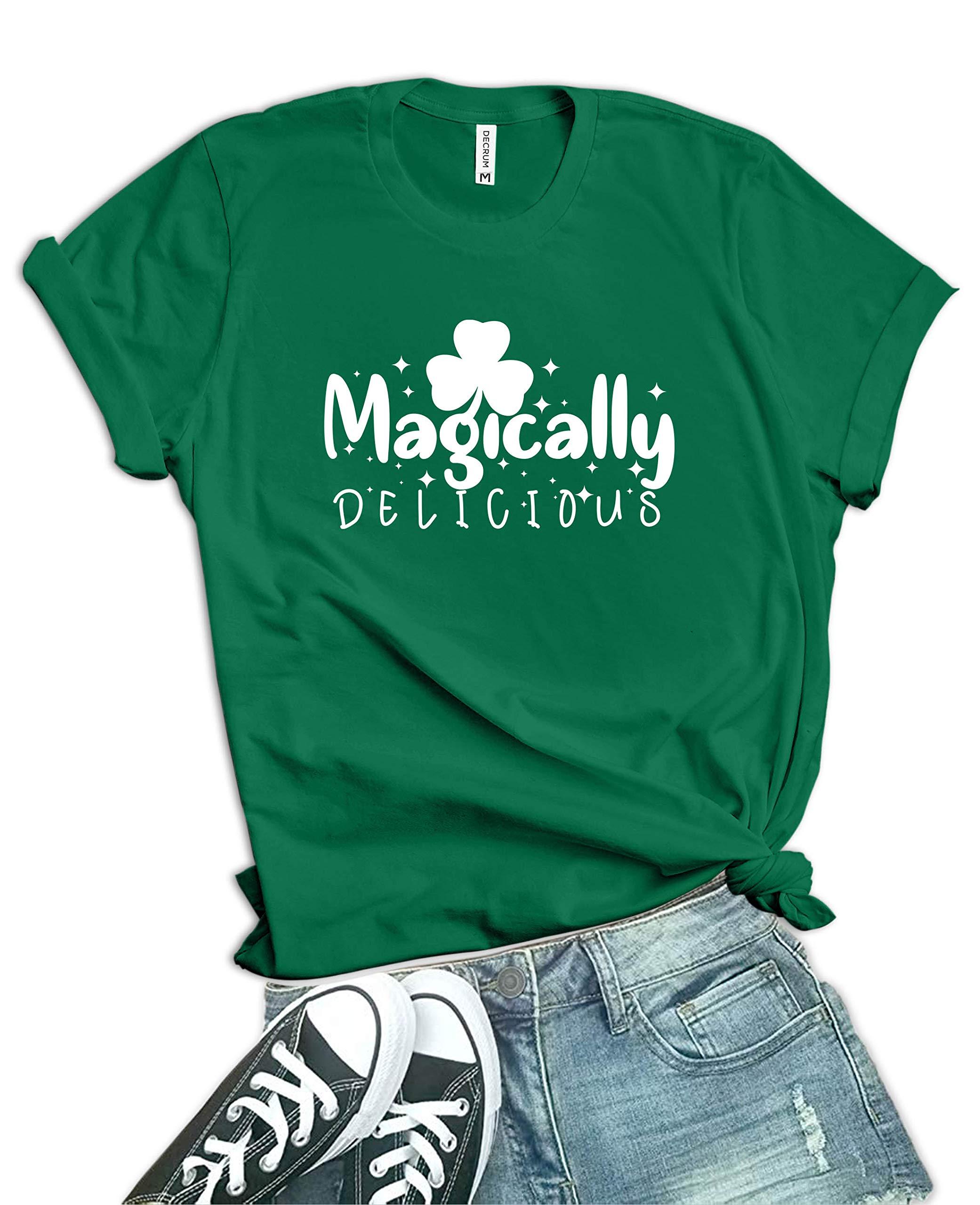 Green St Patricks Day Shirt Women - Drink Up Bitchs Irish Shamrock St. Patty's Day Tshirts