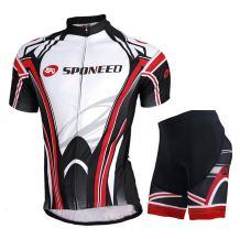 Cycling Jersey Short Sleeve Men MTB Bike Clothing Road Bicycle Shirts Shorts Padded Pants
