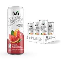 Bai Bubbles, Sparkling Water, Jamaica Blood Orange, Antioxidant Infused Drinks, 11.5 Fluid Ounce Cans, 6 count