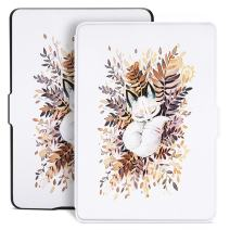 Ayotu Colorful Case for Kindle Paperwhite Auto Wake/Sleep Smart Protective Cover Case - Fits All Paperwhite Generations Prior to 2018(Not Fit All-New Kindle Paperwhite 10th Gen)K5-09 The Sleeping Fox