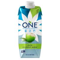 O.N.E. Pure Coconut Water, Non-GMO Project Verified, No Added Sugar, Gluten Free, 16.9 Ounce (Pack of 12)