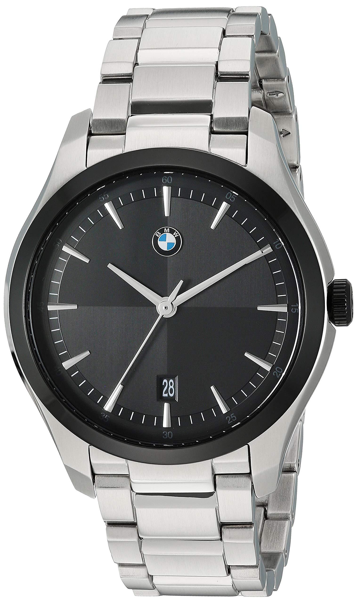 BMW Men's Three-Hand Quartz Movement Watch with Date Window