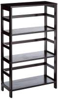 Winsome Wood Leo model name Shelving, Small, Espresso