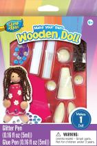 Masterpieces Works of Ahhh Wooden Doll Paint Kit