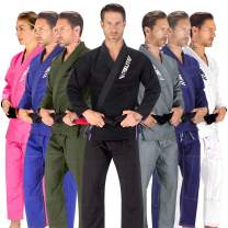 Elite Sports BJJ GI for Men IBJJF Kimono BJJ Jiujitsu GIS W/Preshrunk Fabric & Free Belt (See Special Sizing Guide)