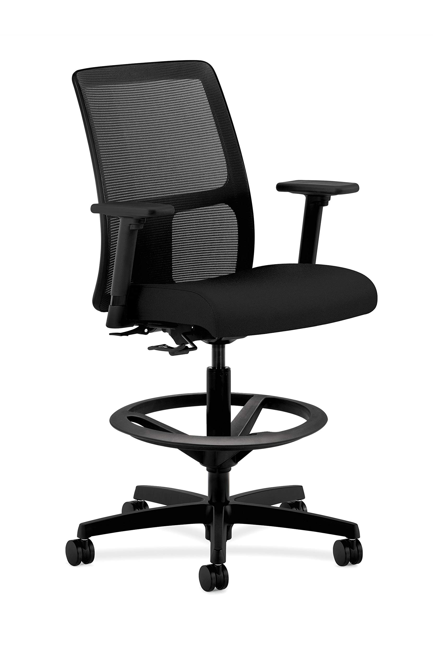 HON Ignition Task Stool Chair, in Black (HITS5)
