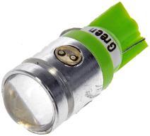 Dorman 194G-HP 194 Green 2Watt LED Bulb