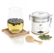 BESTLEAFTEA- Spring Picked Jasmine Pearl Green Tea/Top Quality Chinese Loose Leaf Tea 100 gram/3.5 OZ
