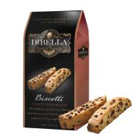 Dibella Biscotti Cookies – Authentic Italian Biscotti, Cherry Chocolate, 6-Count – Gourmet Cantuccini Biscotti – Rich Flavor – Crunchy Outside with Silky Middle – Classic Italian Biscotti