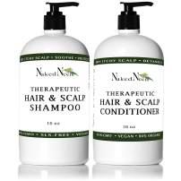 Neem Scalp Shampoo (16oz Shampoo & Conditioner Kit)