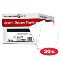 Accent Opaque Printer Paper, White Paper, 20lb Copy Paper, 11x17 Paper, 5 Ream Case / 2,500 Sheets, Smooth Finish (109371C)