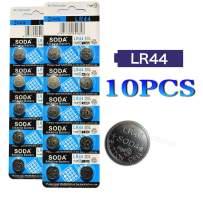 DoDoLightness Battery Alkaline LR44 AG13 Button Cell Batteries 1.5V Button Battery 10PCS