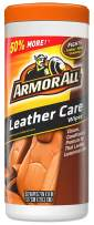 Armor All Car Leather Conditioner & Cleaner Wipes - Cleaning for Cars & Truck & Motorcycle, 30 Count, 18581B