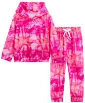 BOOPH Baby Boys Girls Tie Dye Sweatsuit Hoodie Pants 2Pcs Tracksuit Outfit