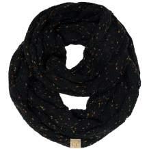 SK-6033-06 Kids Infinity Scarf - Confetti Black