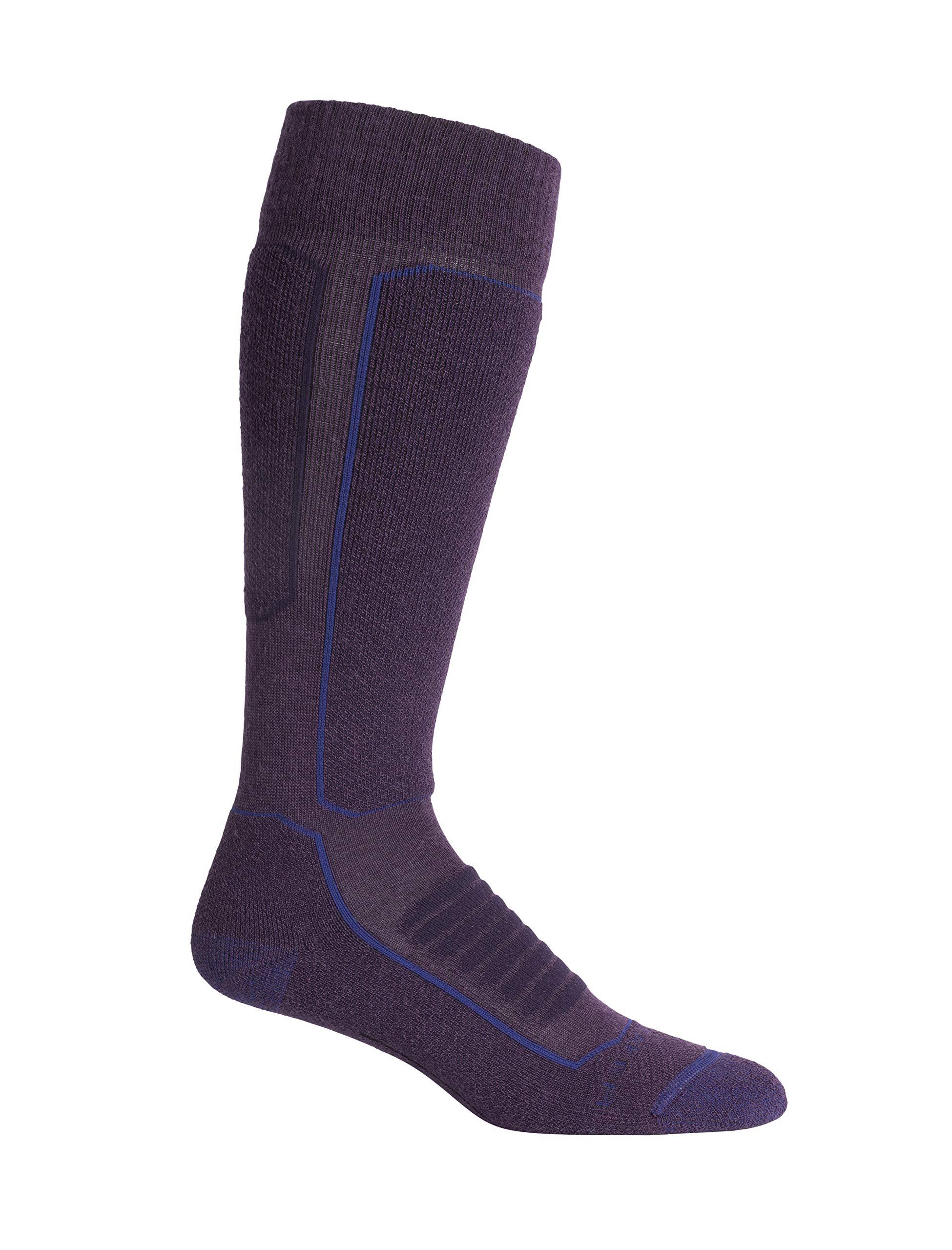Icebreaker Merino womens Ski+ Medium Cushion Merino Wool Over the Calf Socks