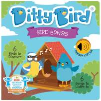 DITTY BIRD Baby Sound Books: Our Bird Songs Musical Book for Babies is The Perfect Toys for 1 Year Old boy and 1 Year Old Girl Gifts . Interactive Educational Infant Toys. Award-Winning!