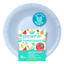 Preserve 72100 Compostable Bowls, 12 Ounce Capacity Kitchen Supplies, Blue