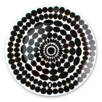 "French Bull 15"" Round Platter - Melamine Dinnerware - Plate, Dish, Serving, Collection - Foli"