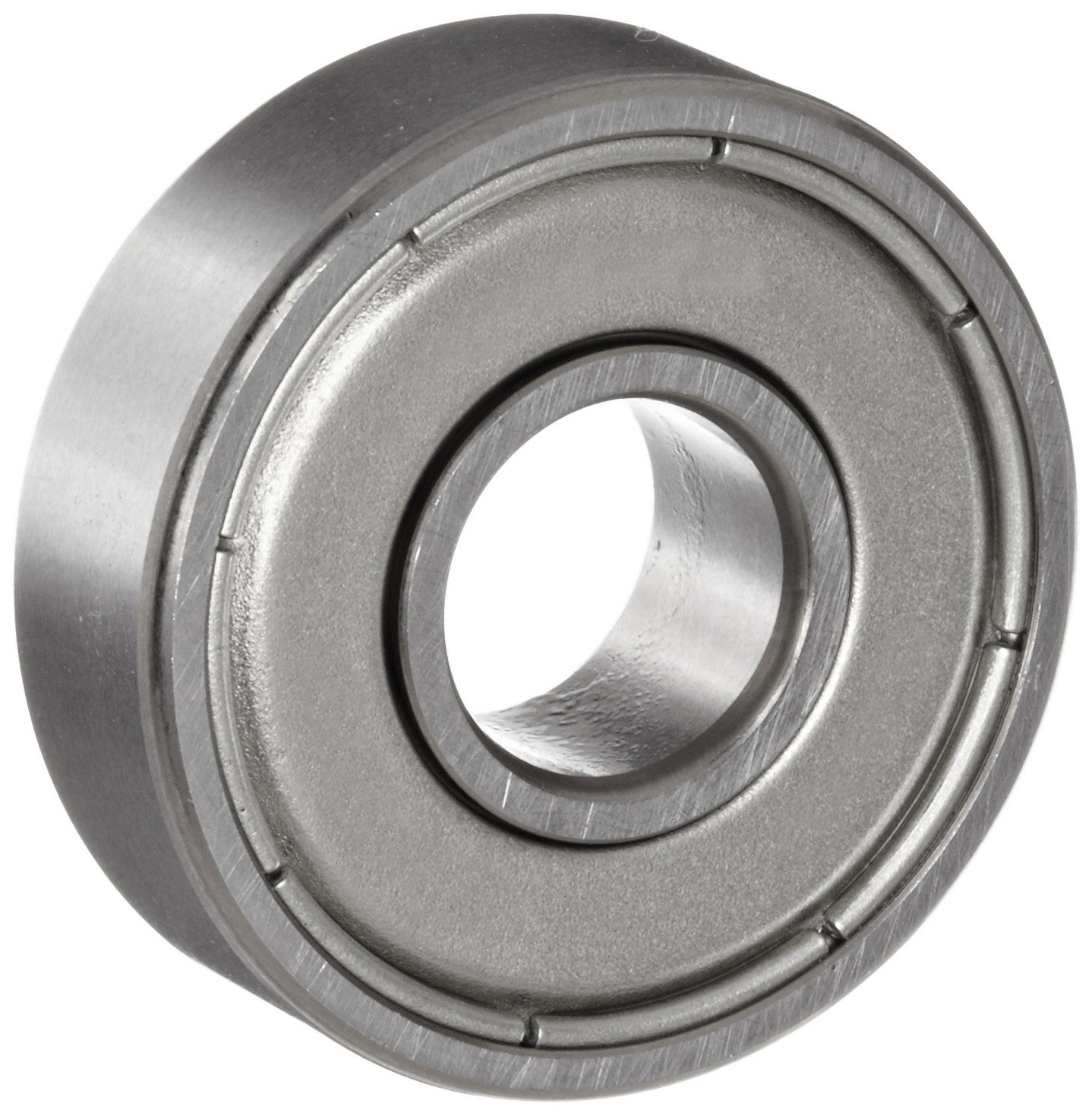 NSK 626Z Deep Groove Ball Bearing, Single Row, Single Shield, Pressed Steel Cage, Normal Clearance, Metric, 6mm Bore, 19mm OD, 6mm Width, 32000rpm Maximum Rotational Speed, 885N Static Load Capacity, 2340N Dynamic Load Capacity