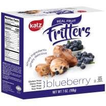 Katz Gluten Free Blueberry Fritters   Dairy Free, Nut Free, Soy Free, Gluten Free   Kosher (6 Packs, 7 Ounce Each)