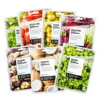 FARMSKIN Superfood Salad For Skin Beauty Facial Sheet Mask Salad Set (Pack of 7) Tomato