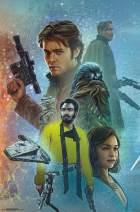 "Trends International Star Wars: Solo - Celebration Mural, 22.375"" x 34"", Premium Unframed"