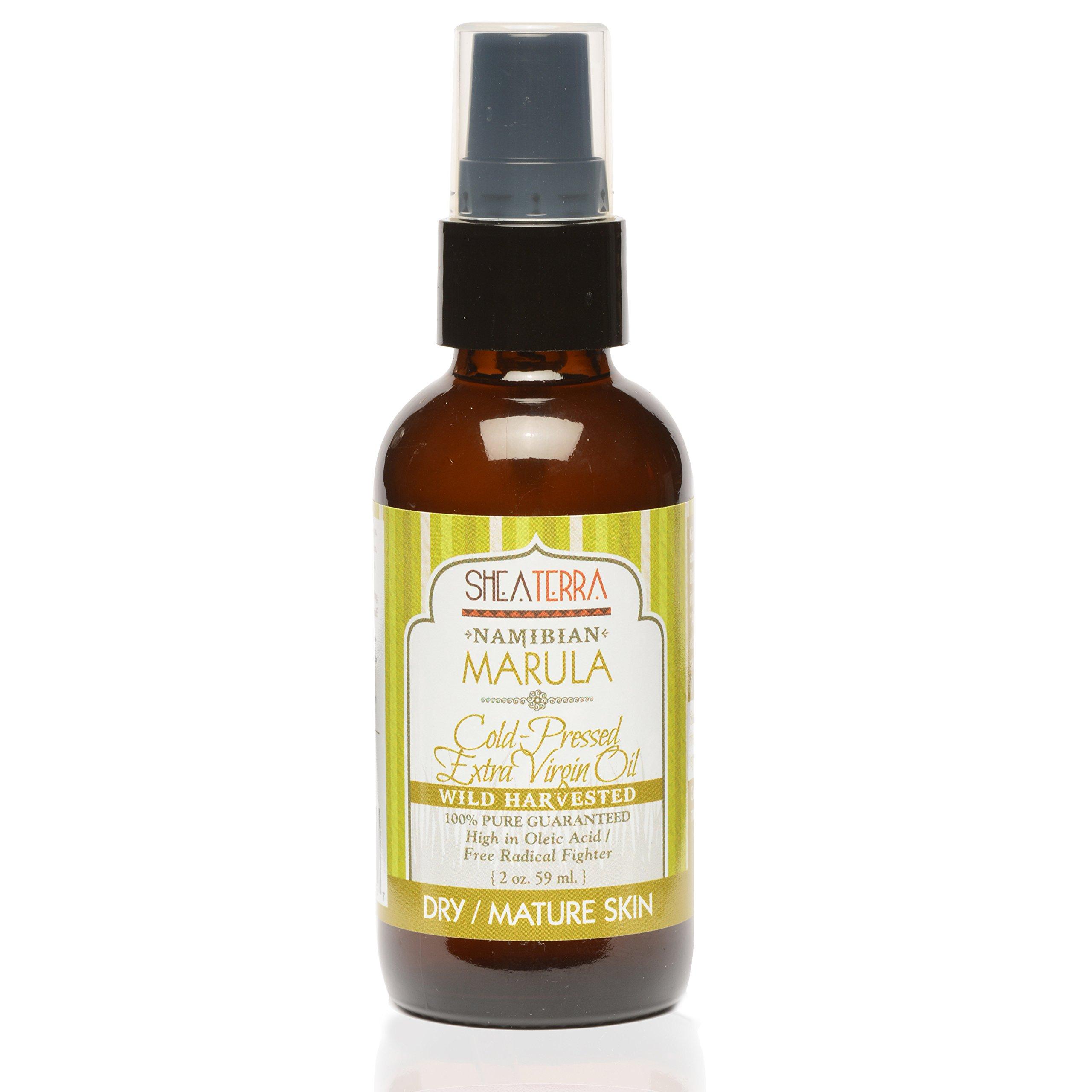 Mature skin facial oil