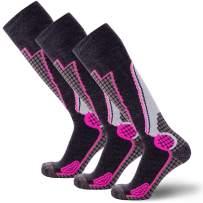 High Performance Wool Ski Socks – Outdoor Winter Men Women Sock Merino Snowboard