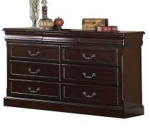 ACME 21348 Roman Empire II Dresser, Dark Cherry Finish