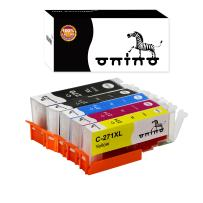onino Compatible Ink Cartridge Replacement for Canon PGI 270XL CLI 271XL Use with MG6820 MG7720 MG5720 TS8020 MG6821 TS5020 TS6020 2-Black Cyan Magenta Yellow (5-Pack)