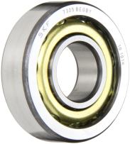 SKF 7306 BEGBY Medium Series Angular Contact Bearing, Medium Preload, ABEC 1 Precision, 40° Contact Angle, Open, Brass Cage, Normal Clearance, 30mm Bore, 72mm OD, 19mm Width, 21200lbf Static Load Capacity, 34500lbf Dynamic Load Capacity