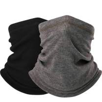 Neck Warmer Face Mask/Neck Gaiter Face Cover - Dust Windproof Balaclava Cold Weather for Winter Skiing Snowboarding