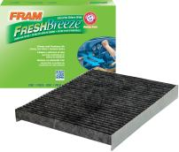 FRAM CF11664 Fresh Breeze Cabin Air Filter with Arm & Hammer